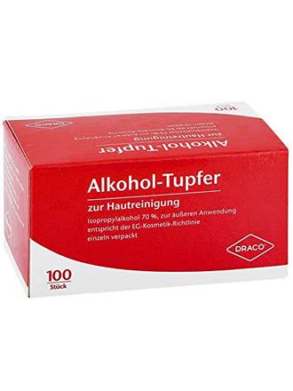 Alkohol Tupfer