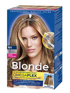 Schwarzkopf Blonde Strähnchen M1