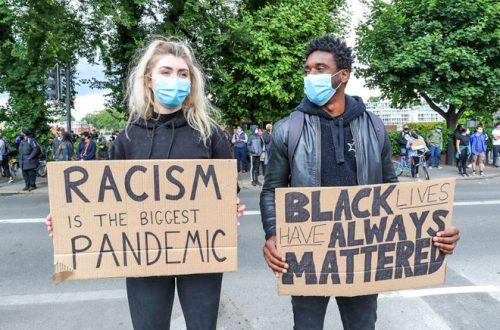 Gegen Rassismus - blacklivesmatter