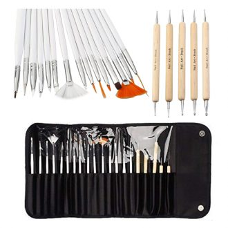Nail Art Pinsel und Dotting Set