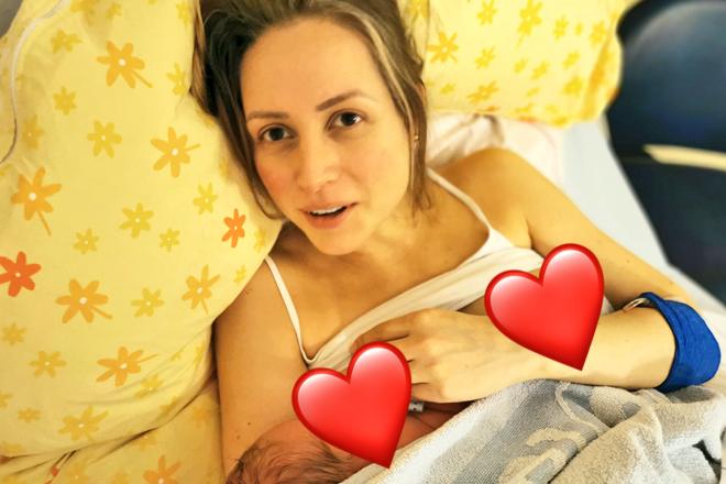 Nach der Entbindung
